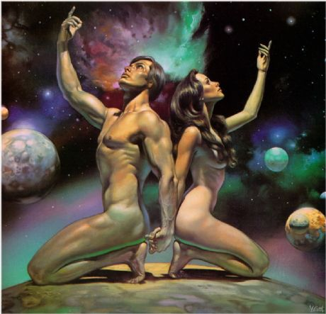 мужчина водолей и женщина водолей секс